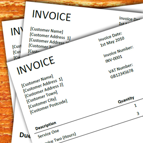A Free Invoice Template For Freelancers - Free invoice template for word 2010 dress stores online